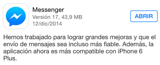 messenger_version_17_noticiasapple.es