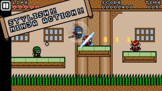 Ninja_Striker_Stylish_Ninja_Action_noticiasapple.es