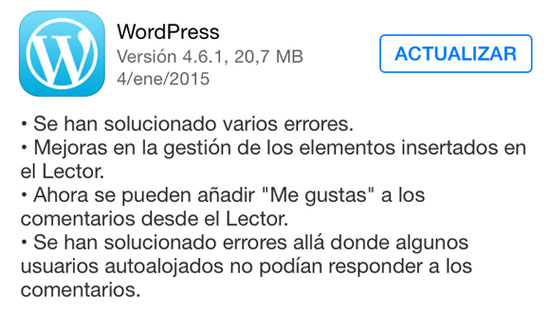 wordpress_version_4.6.1_noticiasapple.es