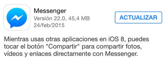 messenger_version_22.0_noticiasapple.es