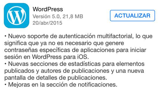 wordpress_version_5.0_noticiasapple.es