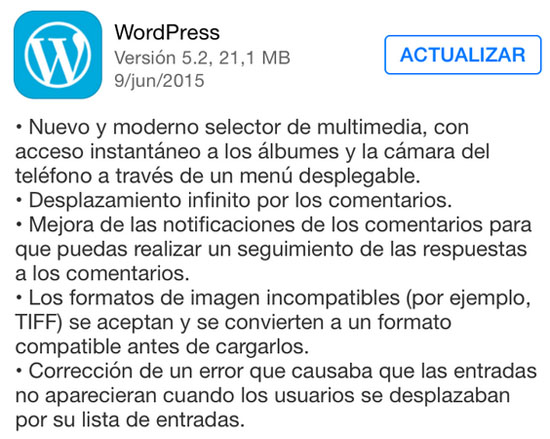 wordpress_version_5.2_noticiasapple.es