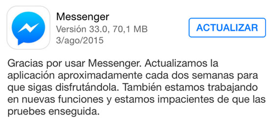 messenger_version_33.0_noticiasapple.es