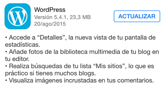 wordpress_version_5.4.1_noticiasapple.es