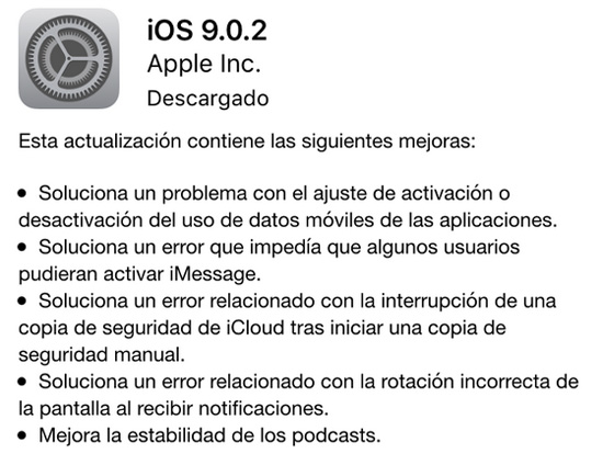 actualizaciojn_ios_9.0.2_caracteristicas_noticiasapple.es