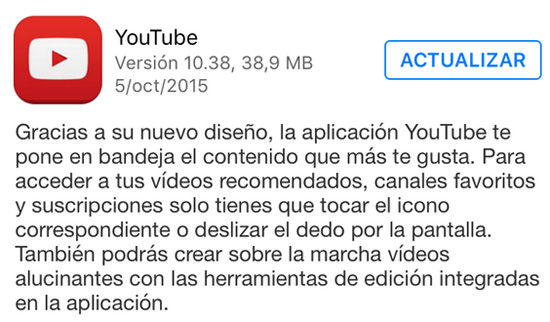 youtube_version_10.38_noticiasapple.es