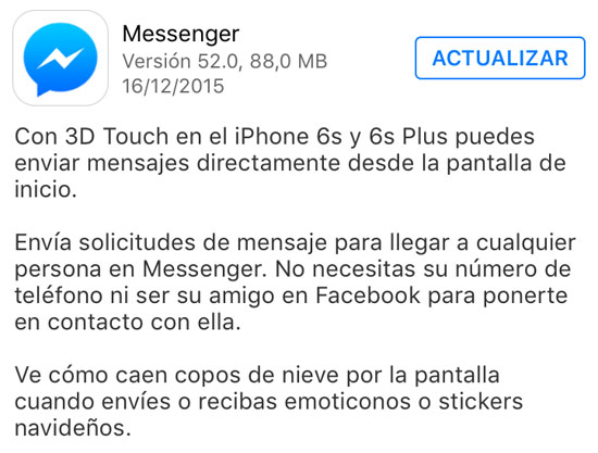 messenger_version_52.0_noticiasapple.es