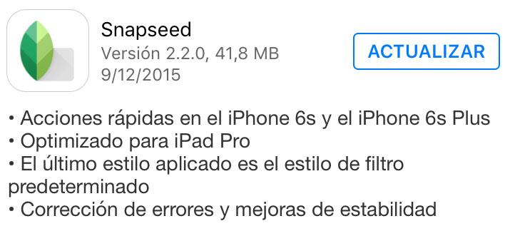 snapseed_version_2.2.0_noticiasapple.es