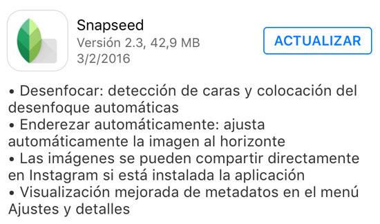 snapseed_version_2.3_noticiasapple.es