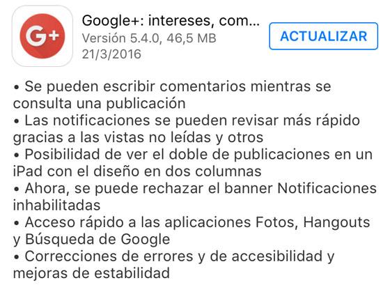 google+_version_5.4.0_noticiasapple.es