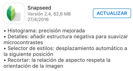 snapseed_version_2.4_noticiasapple.es