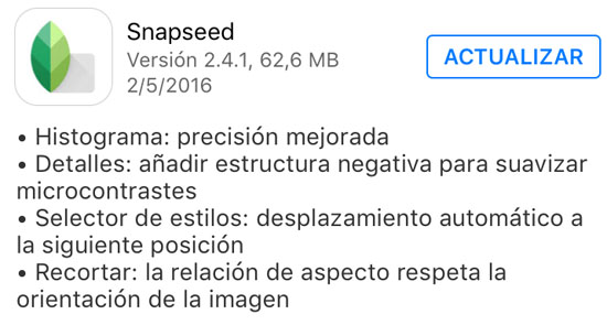 snapseed_version_2.4.1_noticiasapple.es