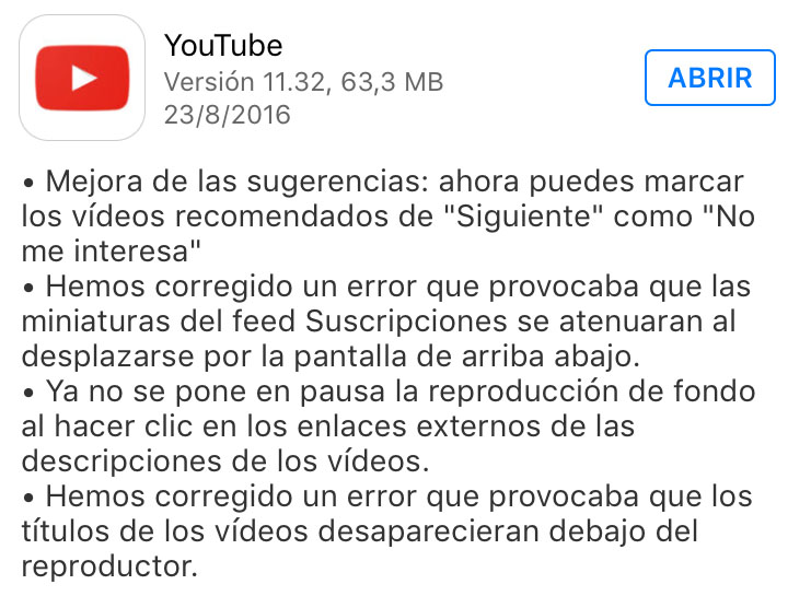 youtube_version_11.32_noticiasapple.es