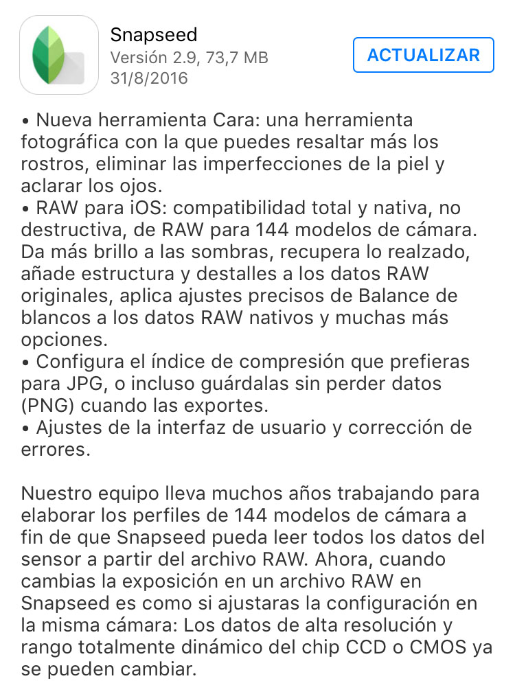 snapseed_version_2.9_noticiasapple